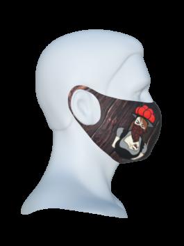 """Stoffmaske """"Black Bonnie"""""""