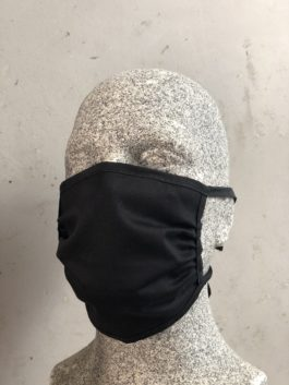 Mund- & Nasenmaske aus Stoff, zweilagig zum Binden