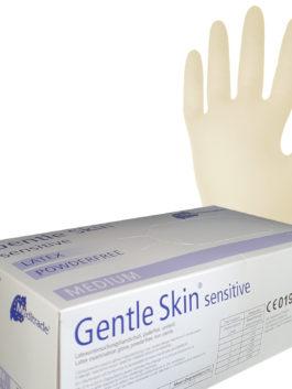 Gentle Skin® sensitive Latexuntersuchungshandschuhe, puderfrei