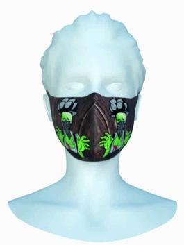 Stoffmaske – Halloween