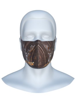 Stoffmaske – Der Hirsch