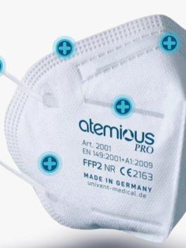 3er SET – FFP2 Atem-Schutzmaske ATEMIOUS-pro (VS)